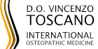 D.O. Vincenzo Toscano – International Osteopathic Medicine Logo