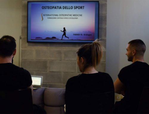 Osteopatia dello sport: grazie.